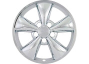 "Promaxx (Set Of 4) 05-09 Mustang 17"" 5 Flat Funnel Spokes Quick Fit Wheel Skin #IWCIMP/319X"