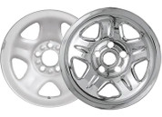"Promaxx (Set Of 4) 05-11 Frontier/05-11 Xterrra 16"" 6 Raised Dimple Spokes Quick Fit Wh #IWCIMP/69X"