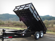 Great Northern 7' X 14' 16K Standard Dump Trailer #DU14-16K
