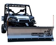 "Snowdogg UTV 68"" Wide Straight Blade Snowplow Kit #MUT68"