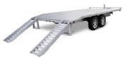 Mission Commercial Grade 8-1/2' X 18' 14K Aluminum Deck-Over Trailer #MDO101X18-14K