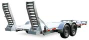 Mission Commercial Grade Patriot 80' X 14' 14K Aluminum Wheel Car Hauler #MPAT6.5x14-14K