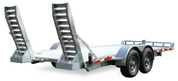 Mission Commercial Grade Patriot 6-1/2' X 22' 14K Aluminum Wheel Car Hauler #MPAT6.5x22-14K