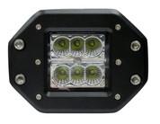 "Kaper II 5.9"" 1200 Lumen 6 Diode LED 12-28w Spot Light #L16-0116-S"