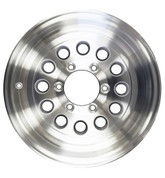 "Tredit 15 x 6, 6 on 5.5"" Aluminum 12 Mod Hole Wheel #WH156-6A-MOD"