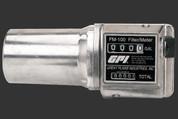 GPI 4 to 20 GPM FM-100-G6N Mechanical Flowmeter #111200-18