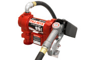 Fill-Rite 12 Volt DC Fuel Pump with Hose and Manual Nozzle #FR1210G