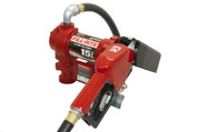 Fill Rite 12 Volt DC Fuel Pump with Hose and Automatic Nozzle #FR1210GA