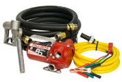 Fill-Rite 12V DC Portable Pump with Hose and Nozzle #RD812NH