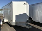 E-Z Hauler Aluminum Duralite Cargo Trailer 6'X12' 3K W/ Ramp #12206