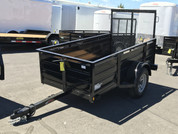 Mirage 4' X 8' 2K Single Axle Landscape Trailer #76191