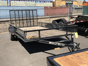 Used Carry-On 7' X 14' Utility landscape Trailer #04225