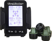 Minder Research TireMinder Tire Pressure Monitoring System for Cars, Trucks and SUVs with Brass or Steel Valve Stems #TM55-B