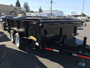 Great Northern 6' X 10' 7K Mid Size Dump Trailer #10659
