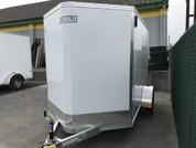 E-Z Hauler Aluminum 6 X 10' 3K  Cargo Trailer W/ Barn Doors #15197