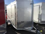 E-Z Hauler  Aluminum 6 X 10' 3K  Cargo Trailer W/ Barn Doors #15761