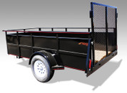 Single Axle Mirage Landscape Trailer