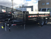 Mirage 7' X 14' 14K Tandem Axle Dump Trailer #29512