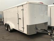 Mirage Xcel 7' X 16' 7K Tandem Axle Cargo Trailer W/ Barn Doors #78006