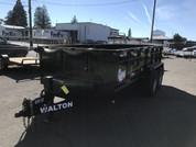 Walton 7' X 14' 14K Dump Trailer #55048