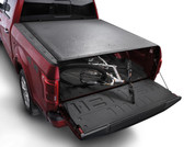 WeatherTech 07-17 Tundra Tundra 5Ft 6In Bed W/ Deck Rail Roll Up Truck Bed Cover Black #8RC5235