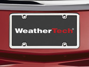 WeatherTech License Plate Frame Kit, Stainless Steel Accessory Na #8ALPSS1