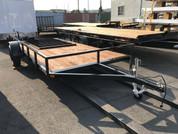 """Iron Eagle Economax 6' 6"""" X 14' 3K Utility Trailer #07481"""