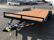 Iron Eagle 10K Series 7' X 20' Equipment Trailer #07483