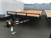 Iron Eagle Titan 8-1/2' X 20' 14K Deck-Over Trailer #07583