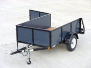 Iron Eagle Voyager 5' X 8' 3K  Utility Trailer #07586