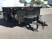 "Walton 83"" X 14' 14K Dump Trailer #55097"