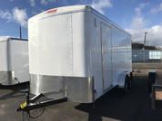 Mirage Xcel 7' X 16' 7K Tandem Axle Cargo Trailer W/ Side by Side #80423