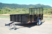 Great Northern 5' x 10' 3K Single Axle Landscape Trailer #SO6295-30136