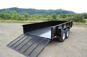 Great Northern 7' x 12' 10K Tandem Axle Landscape Trailer #SO6292-30131