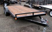 Iron Eagle Titan Series 8.5' X 16' Flatbed Trailer #SO6514-767