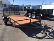 """Iron Eagle Economax 6' 6"""" X 12' 3K Utility Trailer #07670"""