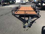 Iron Eagle Economax 6' X 12' 3K Utility Trailer #07671