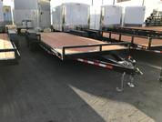 Iron Eagle 10K Series 7' X 20' Equipment Trailer #07639