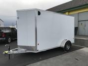 E-Z Hauler Aluminum 6 X 12' 3K Cargo Trailer W/ Barn Doors #14128