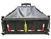 Buyers DTR Dump Tarp Roller Kit Mesh 6.5' X 15' #DTR6515