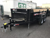 Mirage 7' X 12' 14K Tandem Axle Dump Trailer #78875