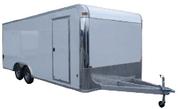 E-Z Hauler Aluminum 8-1/2' X 28' 10K Enclosed Car Trailer #EZEC8X24CH-IF