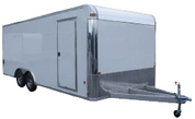 E-Z Hauler Aluminum 8-1/2' X 32' 10K Enclosed Car Trailer #EZEC8X24CH-IF