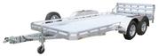 Mission FA-2.0 Tilt 6.5' X 20' 7K Tandem Axle Utility Trailer #MU6.5x20TA-FA-2.0