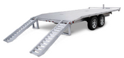 Mission Commercial Grade 8-1/2' X 24' 14K Aluminum Deck-Over Trailer #MDO101x24-14K