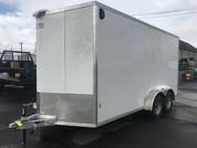 E-Z Hauler Aluminum 7' X 16' 7K Tandem Axle Cargo Trailer #15827