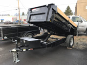 Mirage 5' X 10' 5.2K Single Axle Dump Trailer #79707