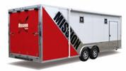 Mission MCH 8-1/2' X 24' Aluminum Car Hauler Trailer #MCH8.5X24