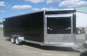 Mission MES 7' X 22' Tandem Axle Enclosed Snowmobile Trailer #MES7X22