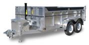Mission Aluminum 7' X 14' 12K Dump Trailer #MODP7X14